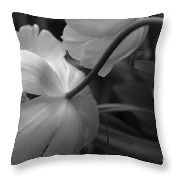 Gracefully Elegant  Throw Pillow