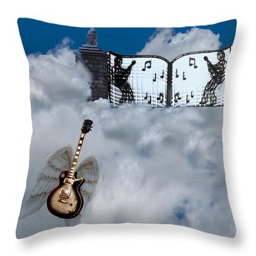 Graceland Throw Pillow by Bill Cannon