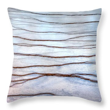 Gradations Throw Pillow