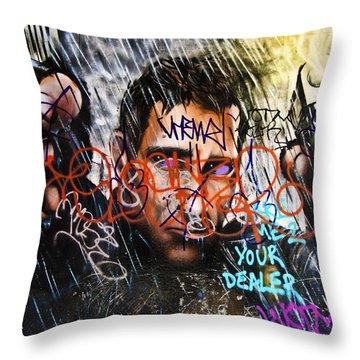 Graffiti 03 Throw Pillow by Svetlana Sewell