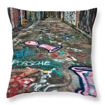 Graffiti 4 Throw Pillow