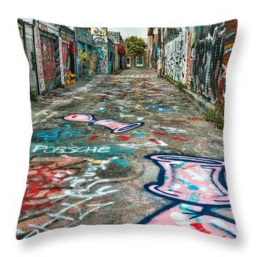 Graffiti 5 Throw Pillow