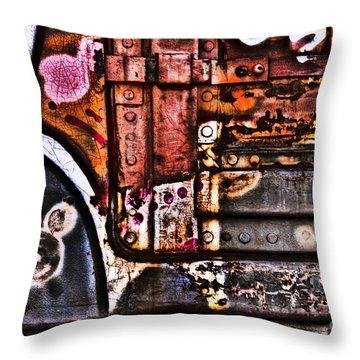 Graffiti II Throw Pillow by Alana Ranney