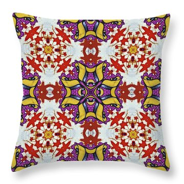 Graffito Kaleidoscope 40 Throw Pillow