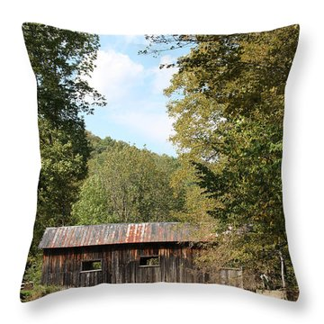 Grafton Cheese Bridge Throw Pillow