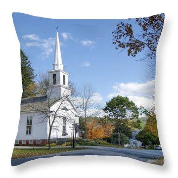 Grafton Church Throw Pillow