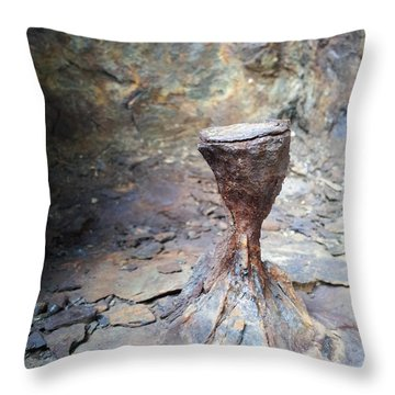 Grail Throw Pillow