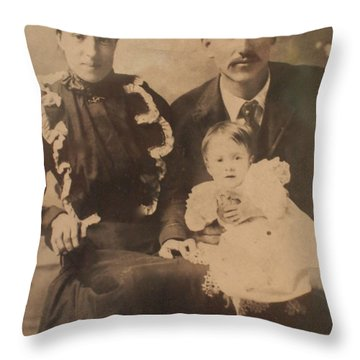 Grampa Cordova Throw Pillow
