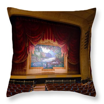 Grand 1894 Opera House - Orchestra Seating Throw Pillow