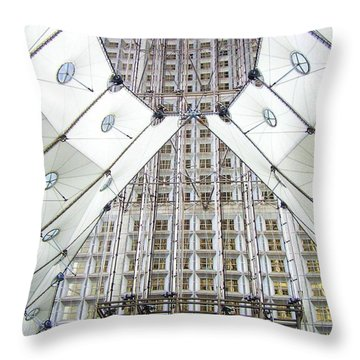 Grand Arche  Throw Pillow