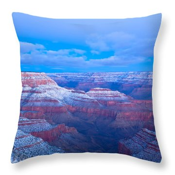 Throw Pillow featuring the photograph Grand Canyon At Dawn by Jonathan Nguyen