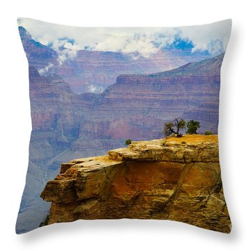 Grand Canyon Clearing Storm Throw Pillow