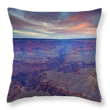 Grand Canyon Dusk Throw Pillow by Mike  Dawson