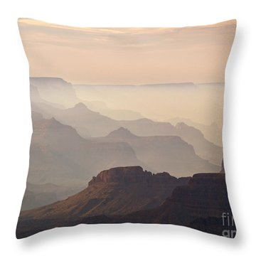 Grand Canyon From Lipan Point Throw Pillow by Alex Cassels