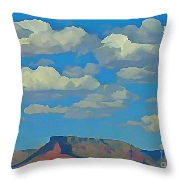 Grand Canyon Horizon Throw Pillow by John Malone