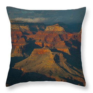 Throw Pillow featuring the photograph Grand Canyon by Rod Wiens