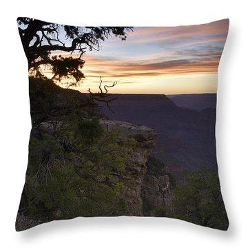 Grand Canyon Sunset 2 Throw Pillow