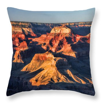 Grand Canyon National Park Sunset Throw Pillow