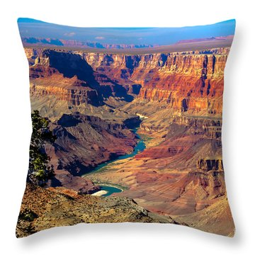 Grand Canyon Sunset Throw Pillow by Robert Bales