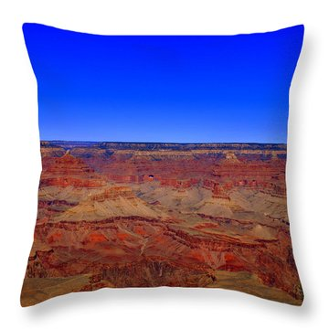 Grand Canyon Two Throw Pillow