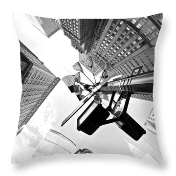 Grand Central America Throw Pillow