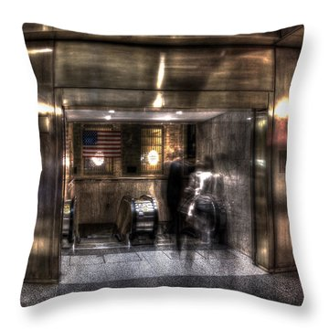 Grand Central Terminal 010 Throw Pillow
