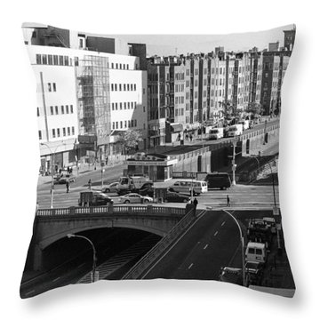 Grand Concourse Bronx Throw Pillow
