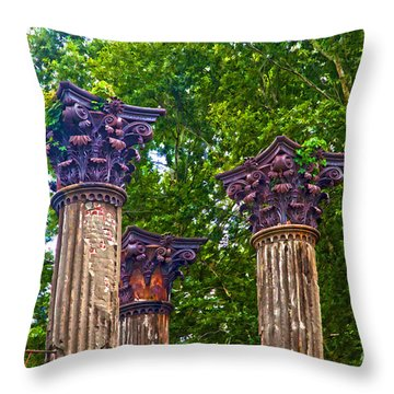 Grand Decay Throw Pillow