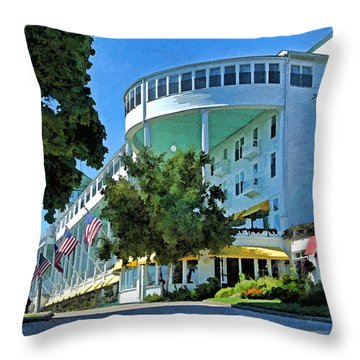 Grand Hotel - Image 003 Throw Pillow