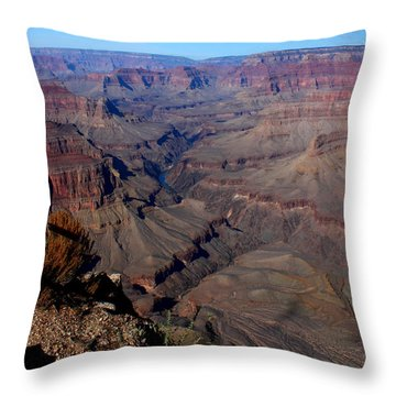 Grand Inspiring Landscape Throw Pillow by Patrick Witz