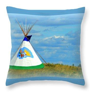 Grand Lodge Throw Pillow