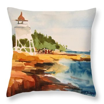 Grand Marais Throw Pillow