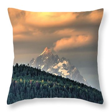 Grand Morning Throw Pillow