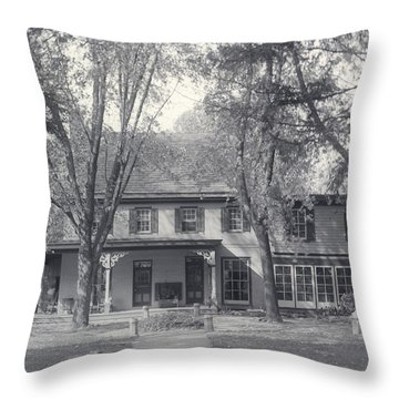 Grand Old House Throw Pillow