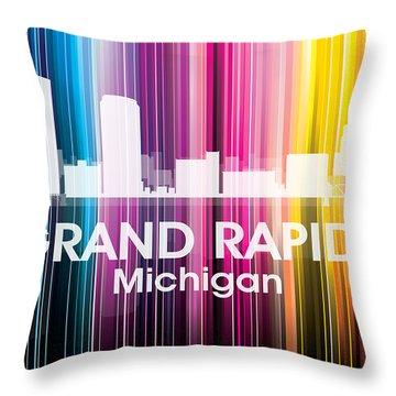 Grand Rapids Mi 2 Throw Pillow