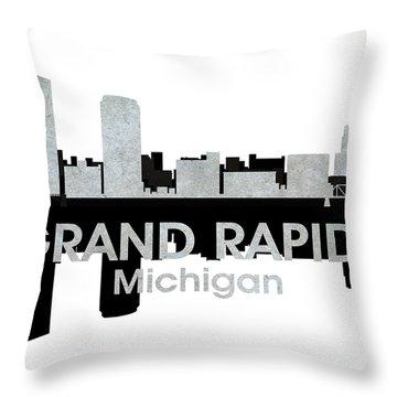 Grand Rapids Mi 4 Throw Pillow