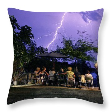 Grand Theatre Of Nature Throw Pillow