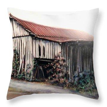 Grandaddy's Barn Throw Pillow