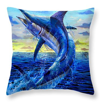 Grander Off007 Throw Pillow by Carey Chen