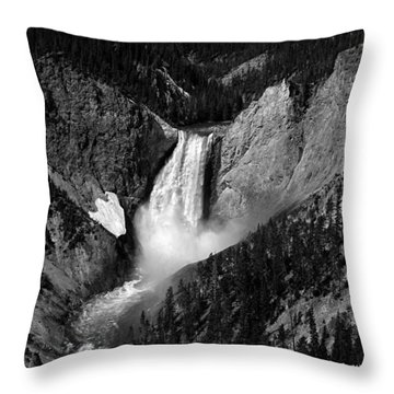 Throw Pillow featuring the photograph Grandeur by Lucinda Walter