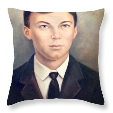 Grandfather Throw Pillow