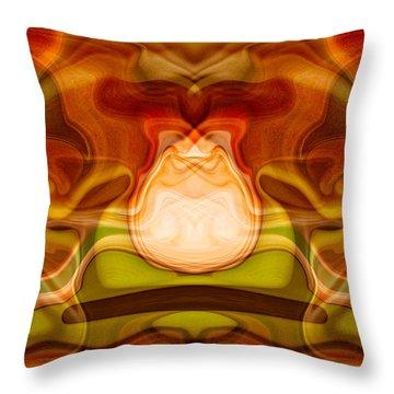 Grandfather Time Throw Pillow by Omaste Witkowski