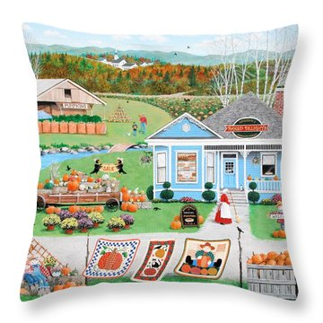 Grandma's Baked Delights Throw Pillow