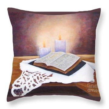 Grandma's Bible Throw Pillow
