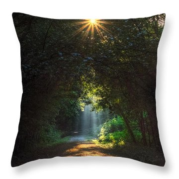 Grandmother's Grace Throw Pillow by William Fields