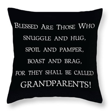 Grandparents Throw Pillow