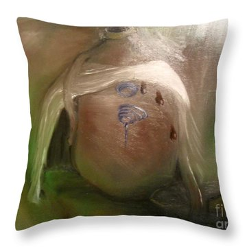 Grandpa's Honey Jug Throw Pillow