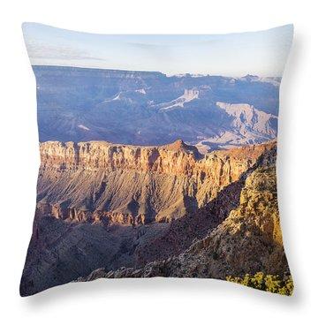 Grandview Sunset 2 - Grand Canyon National Park - Arizona Throw Pillow by Brian Harig