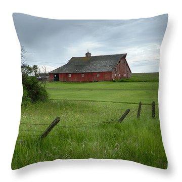 Grangeville Barn Throw Pillow