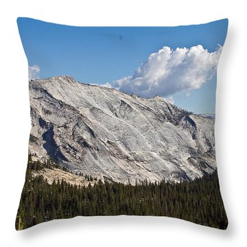 Granite Mountain Throw Pillow by Brian Williamson